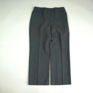 Pendleton Straight Fit Size 10 Gray Dress Pants